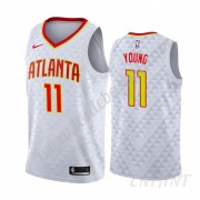 Maillot De Basket Enfant Atlanta Hawks 2019-20 Trae Young 11# Association Edition Swingman..