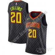 Maillot De Basket Enfant Atlanta Hawks 2019-20 John Collins 20# Noir Icon Edition Swingman..