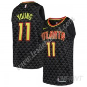 Maillot De Basket Enfant Atlanta Hawks 2019-20 Trae Young 11# Noir Icon Edition Swingman..