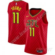 Maillot De Basket Enfant Atlanta Hawks 2019-20 Trae Young 11# Rouge Statement Edition Swingman..