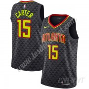 Maillot De Basket Enfant Atlanta Hawks 2019-20 Vince Carter 15# Noir Icon Edition Swingman..