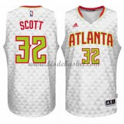Maillot NBA Atlanta Hawks 2015-16 Mike Scott 32# Home..