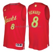 Maillot NBA Pas Cher Atlanta Hawks 2016 Dwight Howard 8# Noël Basket..