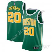 Maillot De Basket Enfant Boston Celtics 2019-20 Gordon Hayward 20# Vert Earned Edition Swingman..