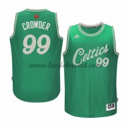 Maillot NBA Pas Cher Boston Celtics Homme 2015 Jae Crowder 99# Noël Basket..