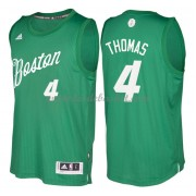 Maillot NBA Pas Cher Boston Celtics 2016 Isaiah Thomas 4# Noël Basket..