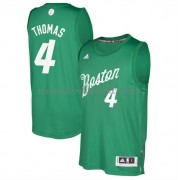 Maillot NBA Pas Cher Boston Celtics 2016 Isiah Thomas 4# Noël Basket..