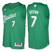 Maillot NBA Pas Cher Boston Celtics 2016 Jaylen Brown 7# Noël Basket..