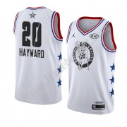 Maillot NBA Pas Cher Boston Celtics 2019 Gordon Hayward 20# Blanc All Star Game Swingman..