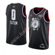 Maillot NBA Pas Cher Boston Celtics 2019 Jayson Tatum 0# Noir All Star Game Finished Swingman..