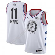 Maillot NBA Pas Cher Boston Celtics 2019 Kyrie Irving 11# Blanc All-Star Game Finished Swingman..
