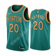 Maillot NBA Boston Celtics 2019-20 Gordon Hayward 20# Vert City Edition Swingman..