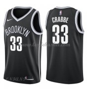Maillot Basket Enfant Brooklyn Nets 2018 Allen Crabbe 33# Icon Edition..