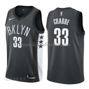 Maillot Basket Enfant Brooklyn Nets 2018 Allen Crabbe 33# Statement Edition..
