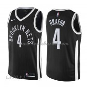 Maillot Basket Enfant Brooklyn Nets 2018 Jahlil Okafor 4# City Edition..