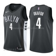 Maillot Basket Enfant Brooklyn Nets 2018 Jahlil Okafor 4# Statement Edition..