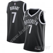 Maillot De Basket Enfant Brooklyn Nets 2019-20 Kevin Durant 7# Noir Icon Edition Swingman..