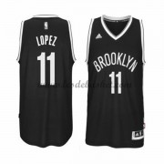 Maillot NBA Brooklyn Nets 2015-16 Brook Lopez 11# Road..