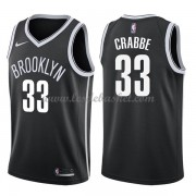 Maillot NBA Brooklyn Nets 2018 Allen Crabbe 33# Icon Edition..