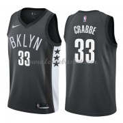 Maillot NBA Brooklyn Nets 2018 Allen Crabbe 33# Statement Edition..