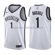 Maillot NBA Brooklyn Nets 2018 D'Angelo Russell 1# Association Edition..