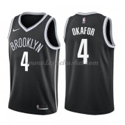Maillot NBA Brooklyn Nets 2018 Jahlil Okafor 4# Icon Edition..