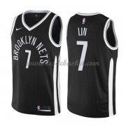 Maillot NBA Brooklyn Nets 2018 Jeremy Lin 7# City Edition..