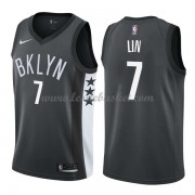 Maillot NBA Brooklyn Nets 2018 Jeremy Lin 7# Statement Edition..