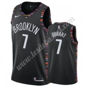 Maillot NBA Brooklyn Nets 2019-20 Kevin Durant 7# Noir City Edition Swingman..