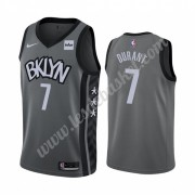 Maillot NBA Brooklyn Nets 2019-20 Kevin Durant 7# Gris Statement Edition Swingman..
