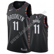 Maillot NBA Brooklyn Nets 2019-20 Kyrie Irving 11# Noir City Edition Swingman..