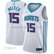 Maillot Basket Enfant Charlotte Hornets 2018 Kemba Walker 15# Association Edition..