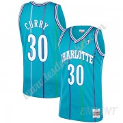 Maillot De Basket Enfant Charlotte Hornets 1992-93 Dell Curry 30# Sarcelle Hardwood Classics Swingma..