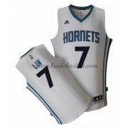 Maillot NBA Charlotte Hornets 2015-16 Jeremy Lin 7# Home..
