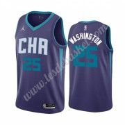 Maillot NBA Charlotte Hornets 2019-20 P. J. Washington 25# Violet Statement Edition Swingman..