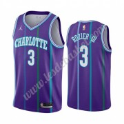 Maillot NBA Charlotte Hornets 2019-20 Terry Rozier 3# Violet Classics Edition Swingman..