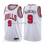 Maillot Basket Enfant Chicago Bulls 2018 Antonio Blakeney 9# Association Edition..