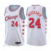 Maillot Basket Enfant Chicago Bulls 2018 Lauri Markkanen 24# City Edition..