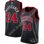 Maillot De Basket Enfant Chicago Bulls 2019-20 Lauri Markkanen 24# Noir Finished Statement Edition S..