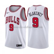 Maillot NBA Chicago Bulls 2018 Antonio Blakeney 9# Association Edition..