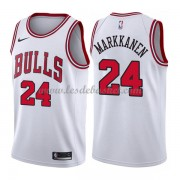 Maillot NBA Chicago Bulls 2018 Lauri Markkanen 24# Association Edition..