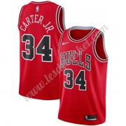 Maillot NBA Chicago Bulls 2019-20 Wendell Carter Jr. 34# Rouge Icon Edition Swingman..
