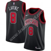 Maillot NBA Chicago Bulls 2019-20 Zach Lavine 8# Noir Finished Statement Edition Swingman