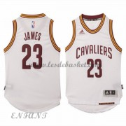 Maillot Basket NBA Cleveland Cavaliers Enfant 2015-16 LeBron James 23# Home..