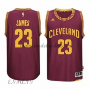 Maillot Basket NBA Cleveland Cavaliers Enfant 2015-16 LeBron James 23# Road..