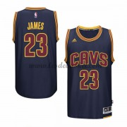 Maillot NBA Cleveland Cavaliers 2015-16 LeBron James 23# Navy Alternate..