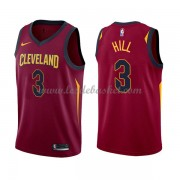 Maillot NBA Cleveland Cavaliers 2018 George Hill 3# Icon Edition..
