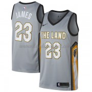 Maillot NBA Cleveland Cavaliers 2018 LeBron James 23# City Edition..