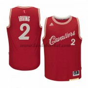 Maillot NBA Pas Cher Cleveland Cavaliers Homme 2015 Kyrie Irving 2# Noël Basket..