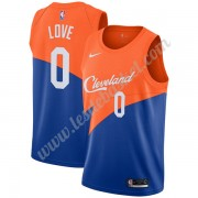 Maillot NBA Cleveland Cavaliers 2019-20 Kevin Love 0# Bleu City Edition Swingman..